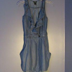 H&M Chambray Dress  4    A73